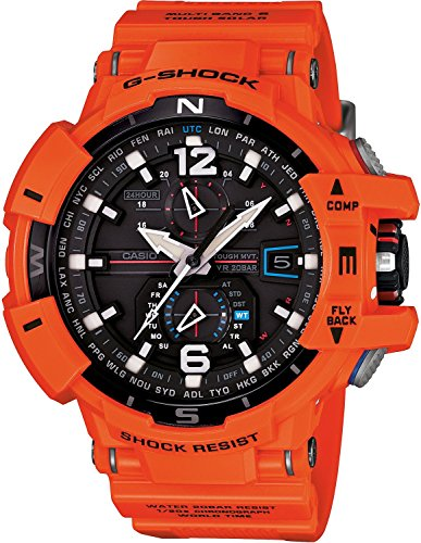 G-Shock Unisex Atomic Solar GWA1100 Orange Watch Orange G-shock