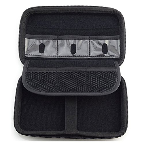 Universal Travel Case for Small Electronics and Accessories - Portable Hard Drive, Power Bank, Cables and more