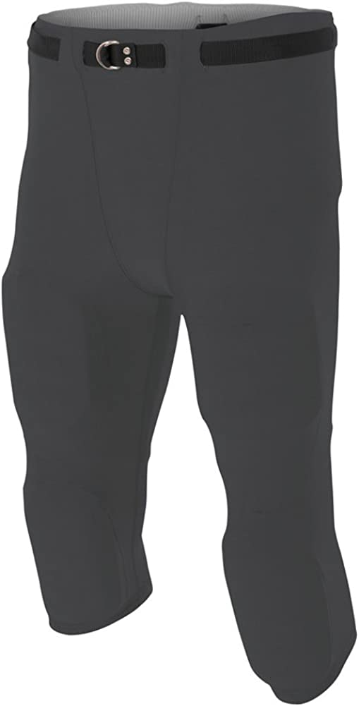 XXXX-Large A4 Flyless Football Pant Graphite