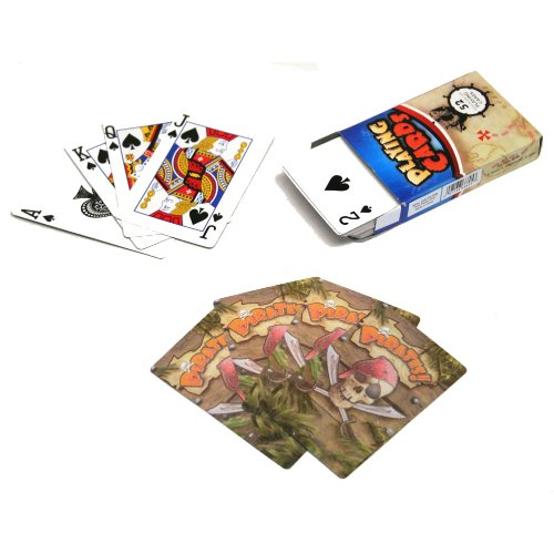 [Pirate Playing Cards] (Scallywag Pirate Costume)