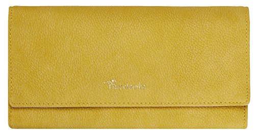 Travelambo Womens Wallet Faux Leather RFID Blocking Purse Credit Card Clutch (Lemon Yellow 310) by Travelambo (Image #4)