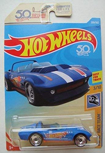 (Hot Wheels HW 50 RACE TEAM 3/10, BLUE CORVETTE GRAND SPORT ROADSTER 259/365)