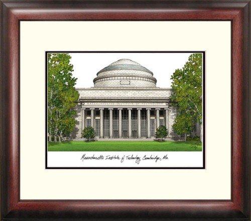 Massachusetts Institute of Technology Alumnus Framed Lithograph by Landmark Publishing