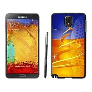 Customized Design Merry Christmas Black Samsung Galaxy Note 3 Case 63