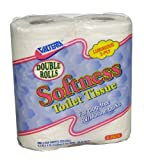 Valterra White Q23638 Softness 2-Ply Toilet Tissue-Double Roll, Pack of 4