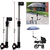 Antrygobin Baby Stroller Bike Pram Bicycle Adjustable Umbrella Support Holder Pole Stand