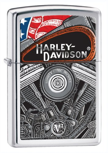 (Zippo H-D Engine Pocket Lighter)