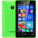 Microsoft Lumia 532 UNLOCKED RM-1032 Dual Sim Windows Phone 2G GSM 850/900/1800/1900MHZ, WCDMA 850/900/1900/2100MHZ (Green)