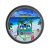 CafePress – Home Sweet Home Camper – Unique Decorative 10″ Wall Clock For Sale