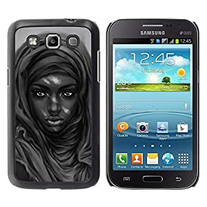 iKiki Tech / Estuche rígido - Belleza negro - Samsung Galaxy Win I8550
