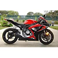 Red Black Complete Fairing Injection for 2006-2007 Suzuki GSXR GSX-R 600 750