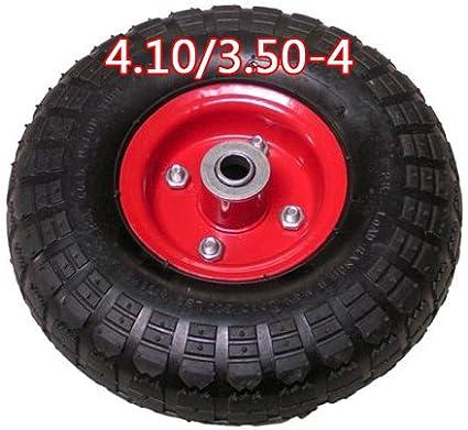 4.10/3.50 – 4 ruedas para carretilla rueda de repuesto Rueda Rueda Cochecitos de rodamiento