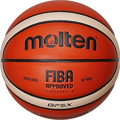 MOLTEN balón de Baloncesto GFX (Unidades), Color - Orange/Ivory ...