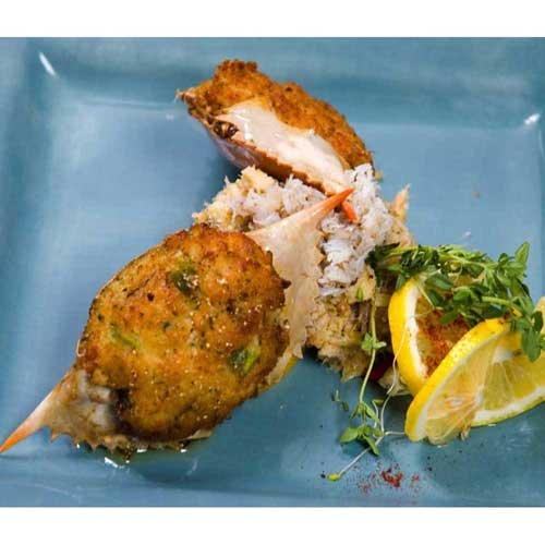 (Miss Sallys 2 Ounce Raw Stuffed Crab in Shell, 2.25 Pound -- 6 per case.)