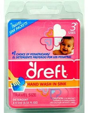 Dreft Sink Packets Gentle Liquid Detergent Case Pack 48 , Au