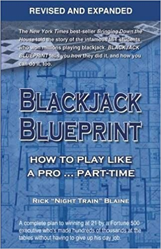Blackjack blueprint how to play like a pro part time rick blackjack blueprint how to play like a pro part time rick night train blaine 9781935396536 amazon books malvernweather Gallery
