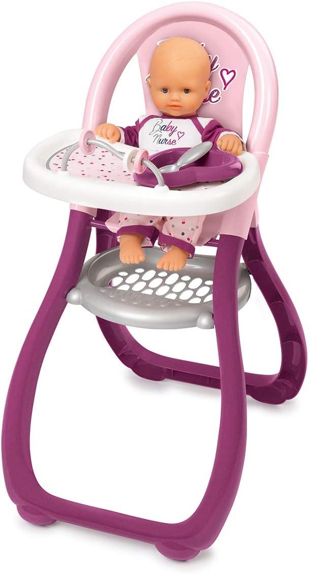 Smoby-Trona Baby Nurse para muñecos bebé 220342, color rosa , color/modelo surtido