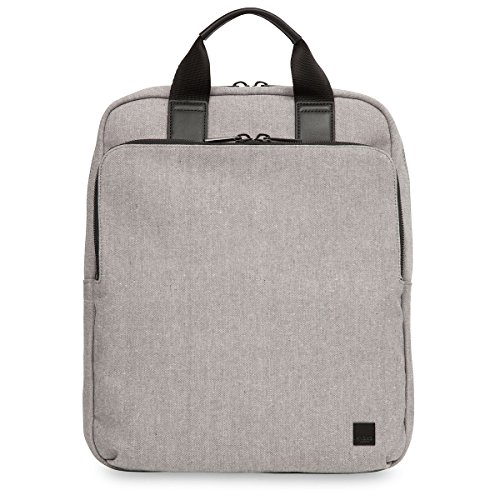 Knomo Luggage Brompton James 15-Inch Tote Backpack, Grey by Knomo