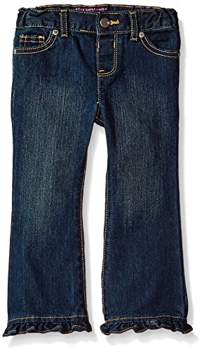 Ruffle Flare Jeans - 1