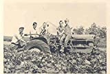 1948 ? Allis Chalmers Tractor on Farm with Family Photo