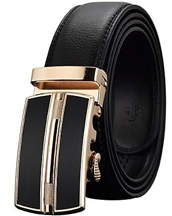 Leather Belts For Men S Ratchet Dress Belt Black Brown