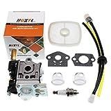 Carburetor For ECHO GT200 GT201i HC150 HC151 PE200 PE201 PPF210 PPF211 SRM210 SRM211 Trimmer Brushcutter With Fuel Maintenance Kit Spark Plug HUZTL