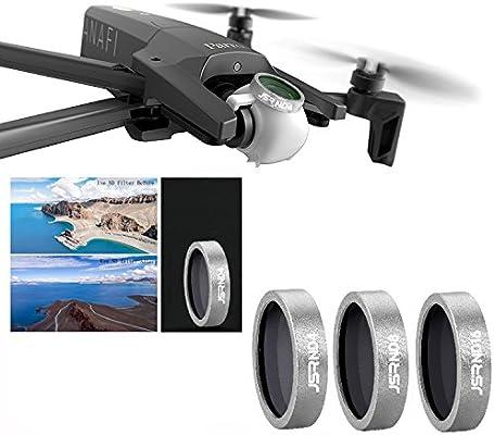 QKOO for Parrot Anafi Drone Camera Accessory Camera Lens Filter ND4 ND8  ND16 Lens Filter for Parrot Anafi
