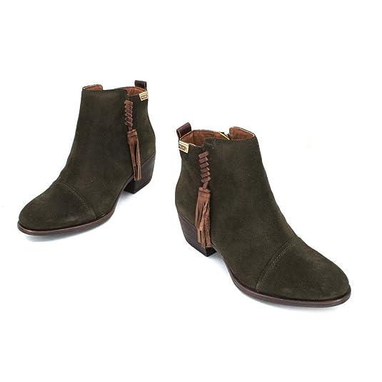 Baqueira W9m Pikolinos Womens BootsAmazon esZapatos 8941se Suede QCxsrthd