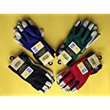 Leather Palm Hi Dexterity Gloves (large). By Rugged Wear