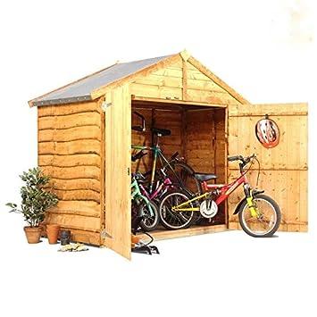 Apex bicicleta ideal para cobertizo de jardín para bicicletas: Amazon.es: Jardín