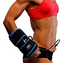 Inflatable Air Compression Gel Wrap For HAND & WRIST Pain Relief. Reusable Cyro Cold Therapy Is Colder Than Ice For Long Last Pain Relief From Spasms, Swelling And Sore Muscles. Pneumatic Compression