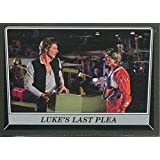 Star Wars Rogue One Mission Briefing Black Base Card #49 Luke's last plea