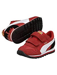 Puma Kids St Runner Superman Sneakers (3.5, High Risk Red)