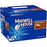 100-Count Maxwell K-CUP Pods House Blend Coffee