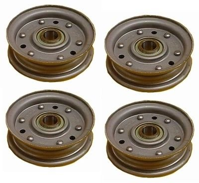 - King Kutter Idler Pulley PACK OF 4 for 4' 5' and 6' RFM Series Finish mowers