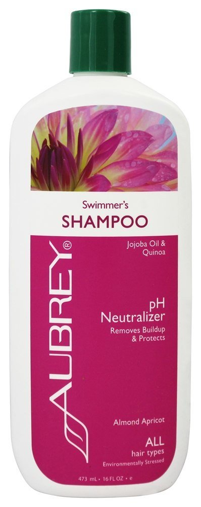 Aubrey Organics - Shampoo Swimmer's pH Neutralizer Almond Apricot - 16 oz. 749985160711