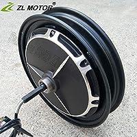 GZFTM - Motor eléctrico para Bicicleta de montaña, Motor de buje sin escobillas, 14 Pulgadas, 36 V, 48 V, 60 V, 72 V, 500 W, 1000 W, Freno de Tambor, Motor de