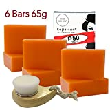 Cheap KOJIE SAN FACE & BODY SOAP W/ INCLUDED FACIAL BRUSH! 6 Bars of Kojie San Skin Lightening Kojic Acid Soap 65g- and Relumins Deep Pore Facial Cleansing Brush-SUPER VALUE! #1 Skin Whitening Soap!
