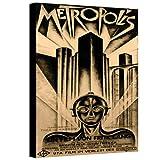 ArtWall Vintage Movies 'Metropolis' Gallery-Wrapped, 08'' x 12''