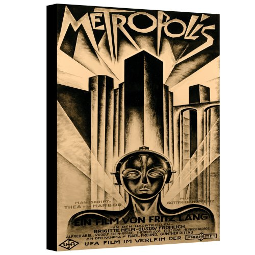 ArtWall Vintage Movies 'Metropolis' Gallery-Wrapped, 08'' x 12'' by ArtWall