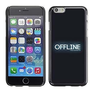 LECELL -- Funda protectora / Cubierta / Piel For Apple iPhone 6 -- OFFLINE --