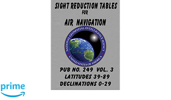 Sight Reduction Tables for Air Navigation Vol 3: National ...
