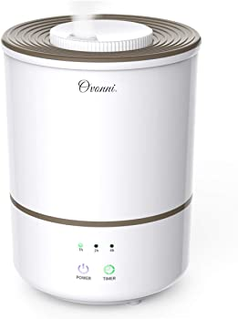 Ovonni Large Capacity Ultrasonic Cool Mist Humidifier
