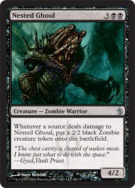 Ghoul Bites (Magic: the Gathering - Nested Ghoul - Mirrodin Besieged)