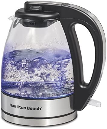 Hamilton Beach Glass Electric Tea Kettle