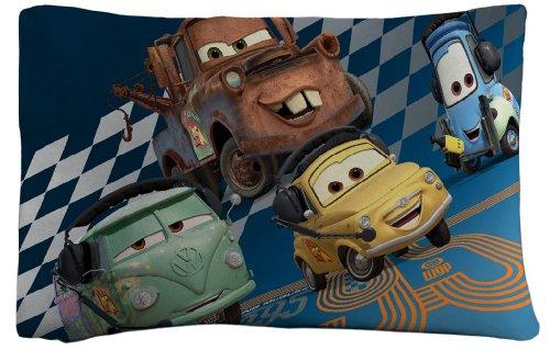 Disney Cars Grand Prix Pillowcase