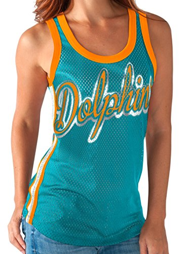 Miami Dolphins Women's Opening Day Remix Tank Top XX-Large - G-iii Sports Tank Top