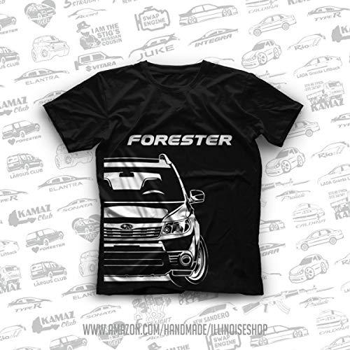 Subaru Forester SH Original T-Shirts 100% Cotton Free - Tuning Forester Subaru
