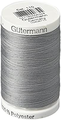 Sew-All 1 Black and 1 White GUTERMANN Thread All PurposeThread 547 Yards