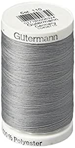 Gutermann Sew-All Thread, 547-Yard, Slate